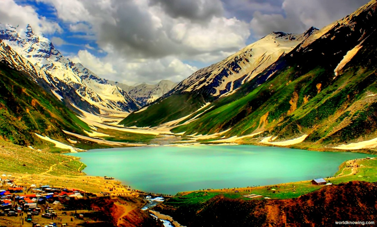 Beautiful valleys in Pakistan