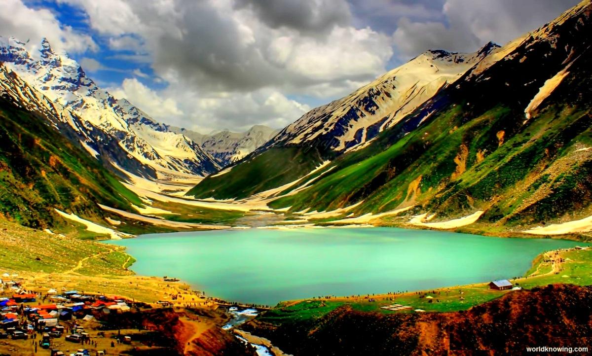 Beautiful valleys in Pakistan