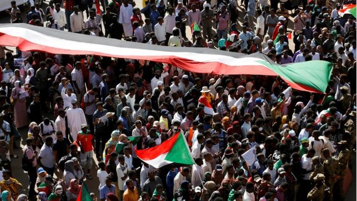 Sudan protest anniversary